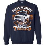 Real Women Ride Men who drive Chevy Trucks