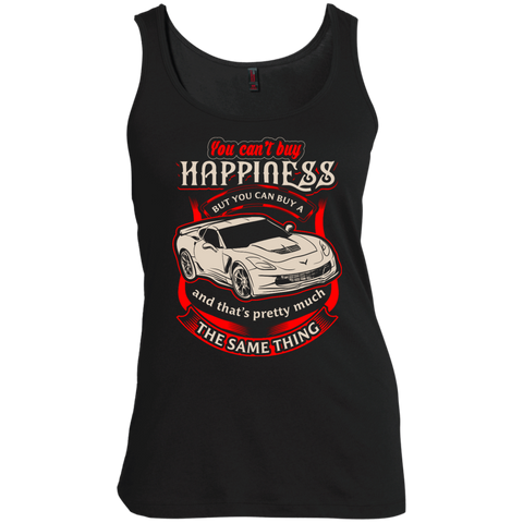 You Can't Buy Happiness But You Can Buy a Corvette Shirt Women