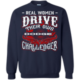 Real Women Drive Their Own Dodge Challenger Hoodie