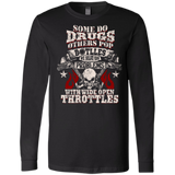 Wide Open Throttles - Biker Shirt - Front Printed