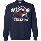 This Girl Loves her Camaro - Hoodie Red