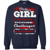 Yes I'm a Girl Yes This is My Challenger No You Can't Drive it Hoodie
