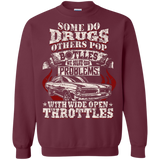 Drugs Bottles Throttles Shirt Front Printed