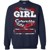 Yes I'm a Girl Yes This is my Corvette Hoodie