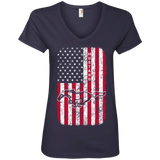 Mustang Flag Women Front Printed