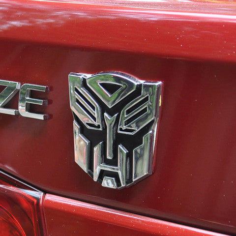 Transformers Car Emblem Badge Sticker