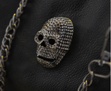 New 2016 Fashion PU leather Skull Shoulder Bag