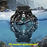 2016 Brand New Ultra Tough Waterproof Digital and Analog Sports Watch Limited Edition