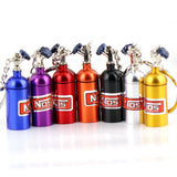 NOS Mini Nitrous Oxide Bottle Keyring