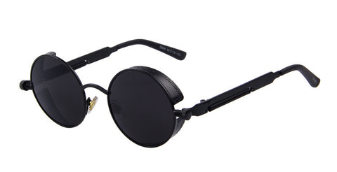 Women Steampunk Sunglasses Round Design