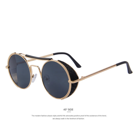 Round Fashion Steampunk Sunglasses