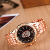 Luxury Rose Gold Watch