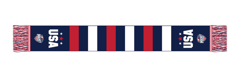 Red, White & Blue Scarf USA