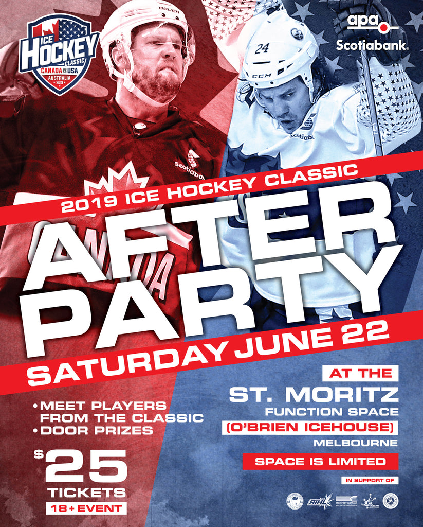 2019 Ice Hockey Classic MELBOURNE After Party - Saturday 22nd June
