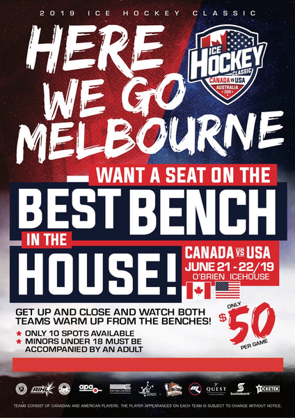 Best Seat in the House Bench Packages - MELBOURNE