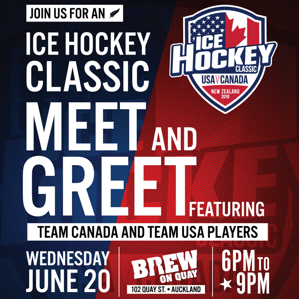 2018 Ice Hockey Classic MEET & GREET Auckland