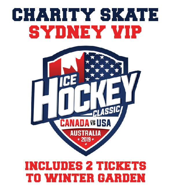 WINTER GARDEN and CHARITY SKATE for 2019 Ice Hockey Classic Sydney JUNE 15 (LIMITED NUMBERS)