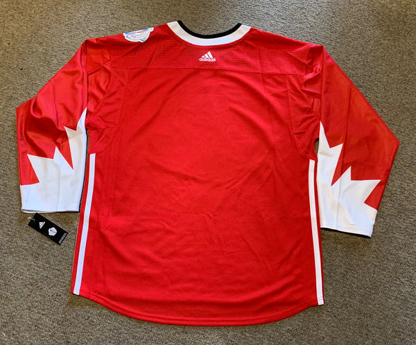 Canada NHL Men's Adidas Red 2016 World Cup of Hockey Premier Home Jersey