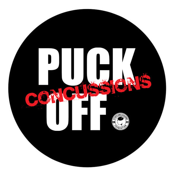 Puck Off Concussions Puck