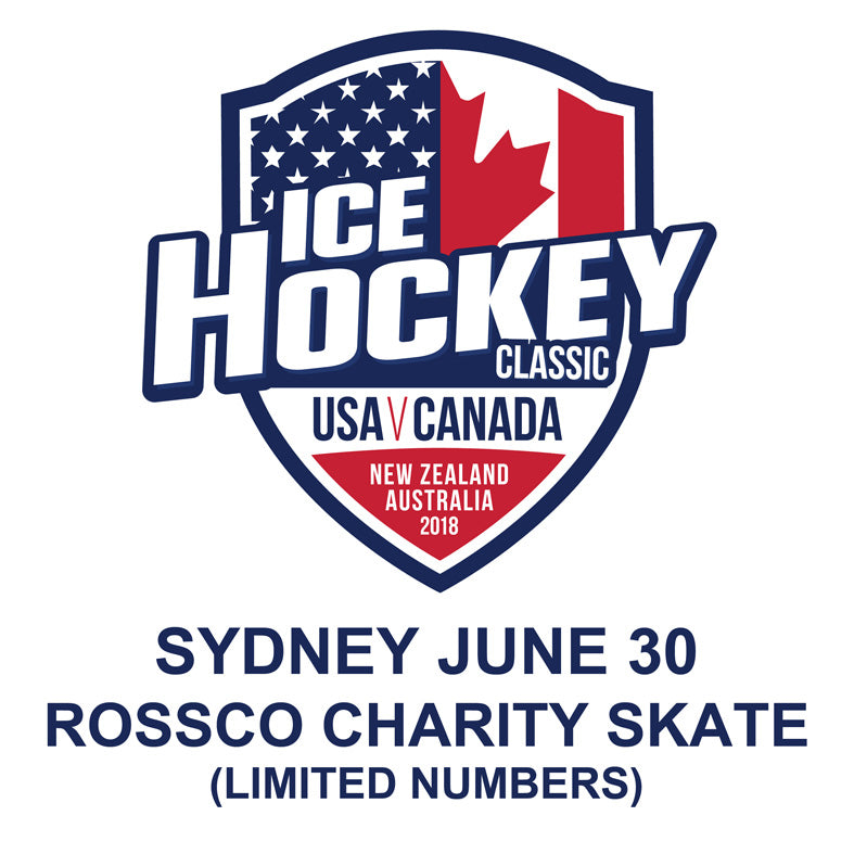 2018 Ice Hockey Classic CHARITY SKATE Sydney JUNE 30 (LIMITED NUMBERS)