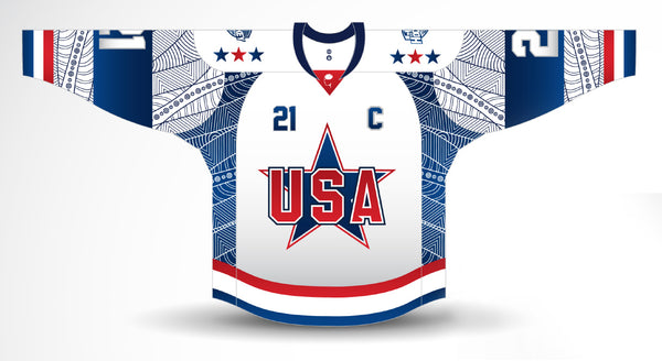 TEAM USA 2021 Ice Hockey Classic Home Jersey PRE-SALE