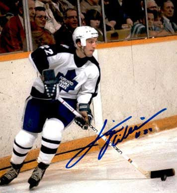 "DAVE 'Tiger' WILLIAMS Autographed 8"" x 10"" Photo"