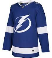 ADULT TAMPA BAY LIGHTING JERSEY
