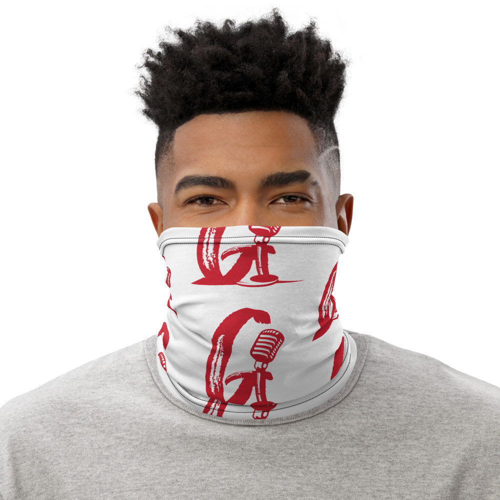 The Gouche Live 'G' White Neck Scarf