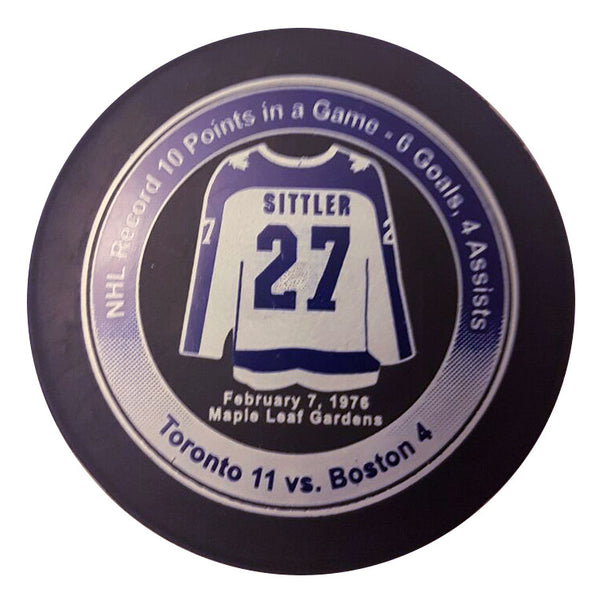 DARRYL SITTLER Limited Edition Puck