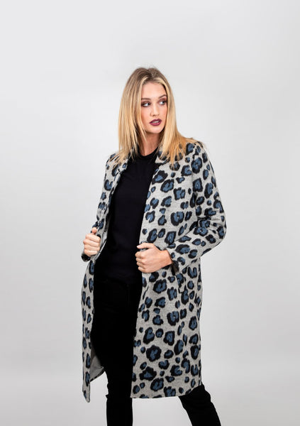Tailored print darling coat