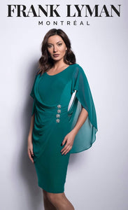 Frank lyman green dress