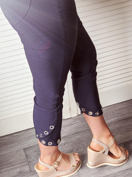 Navy robell trousers