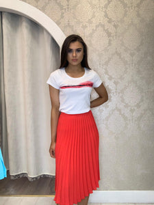Nissa pleated skirt