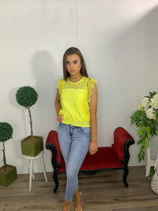 Darling yellow top