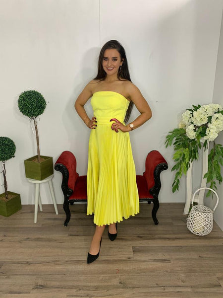Rhinocimento yellow dress