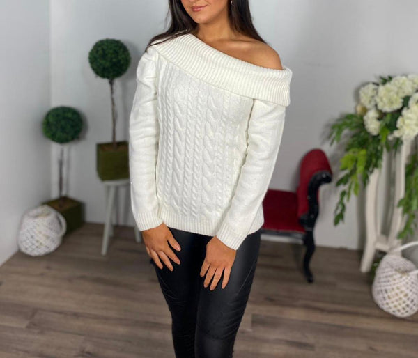 Cream Cassie jumper