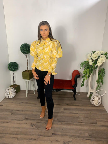 Lolly yellow blouse