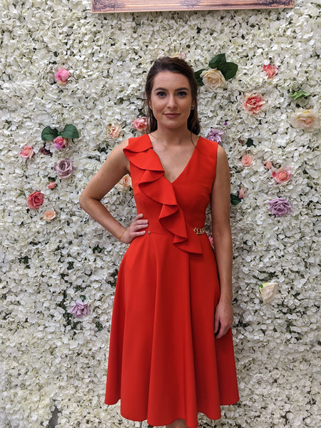 Nissa red dress