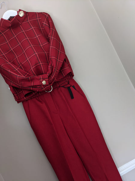Setre red trouser