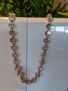 Absolute rose gold 58 necklace