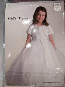 First communion tights