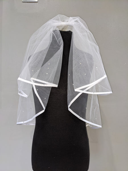 First communion veil