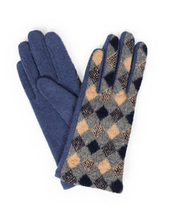 Powder diamond gloves