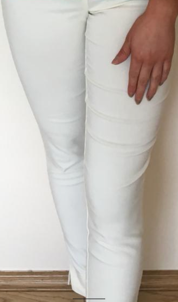 Pinns cream/lemon bengaline trousers