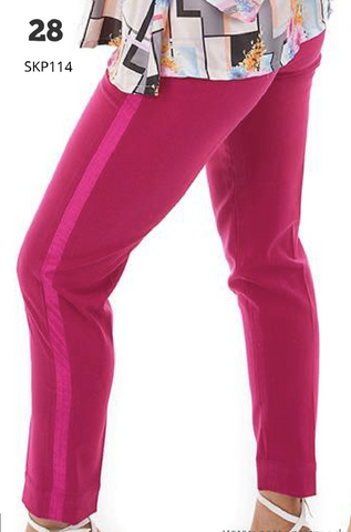 Harvey paul pink single pipe pants