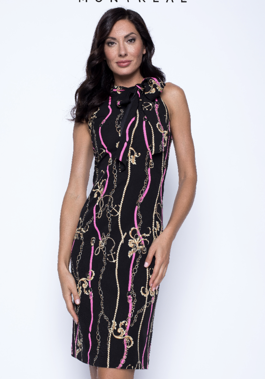 Frank lyman chain dress