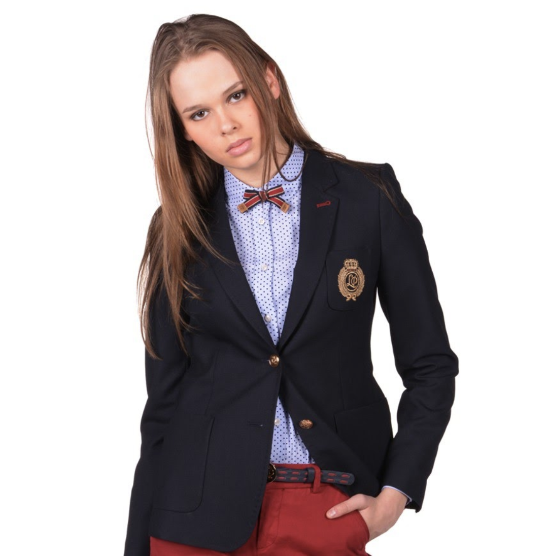 Lion of porches navy blazer