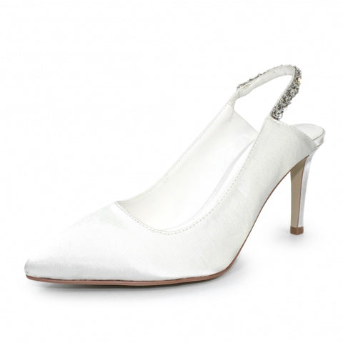 White arebella shoe