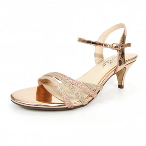 Leona wide fit rose  gold