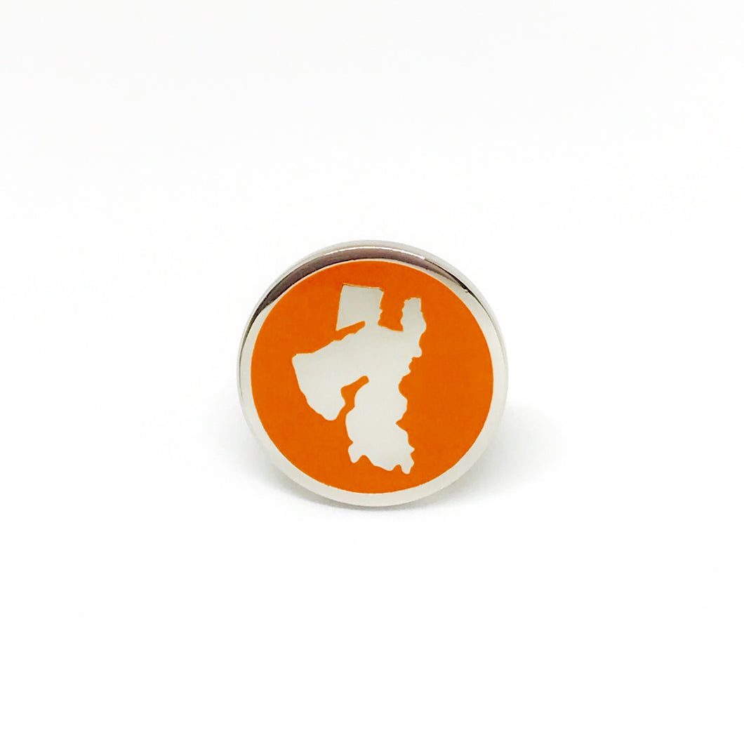 Reddendi Middle East - Silver Cufflinks - Orange - Reddendi